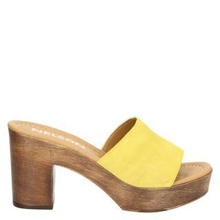 slippers geel