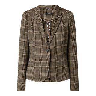 Tailored fit blazer met stretch