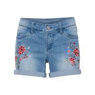Dames jeansshort in blauw - BODYFLIRT