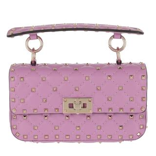 Tasche - Rockstud Spike Crossbody Bag Small Giacinto in roze voor dames - Gr. Small