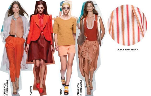 Kleurencombinatie trend: Bruin & Oranje