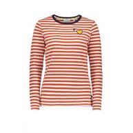 Silvercreek Teddy T-shirt Oranje