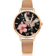 Fashionidea.nl - Floral Watch Rose Gold