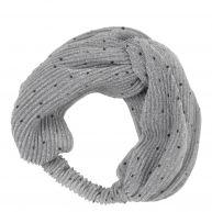 Haarband met stippen van becksondergaard, grijs