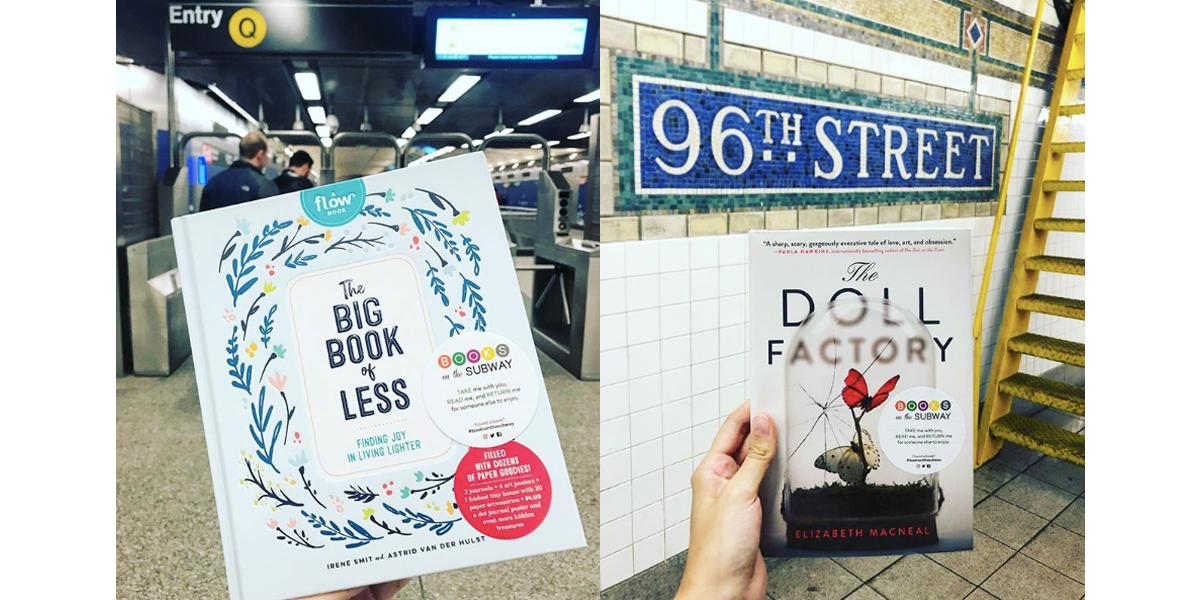 books on the subway