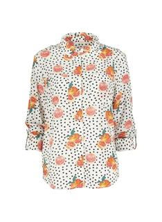 Damesblouse Oranje (oranje)
