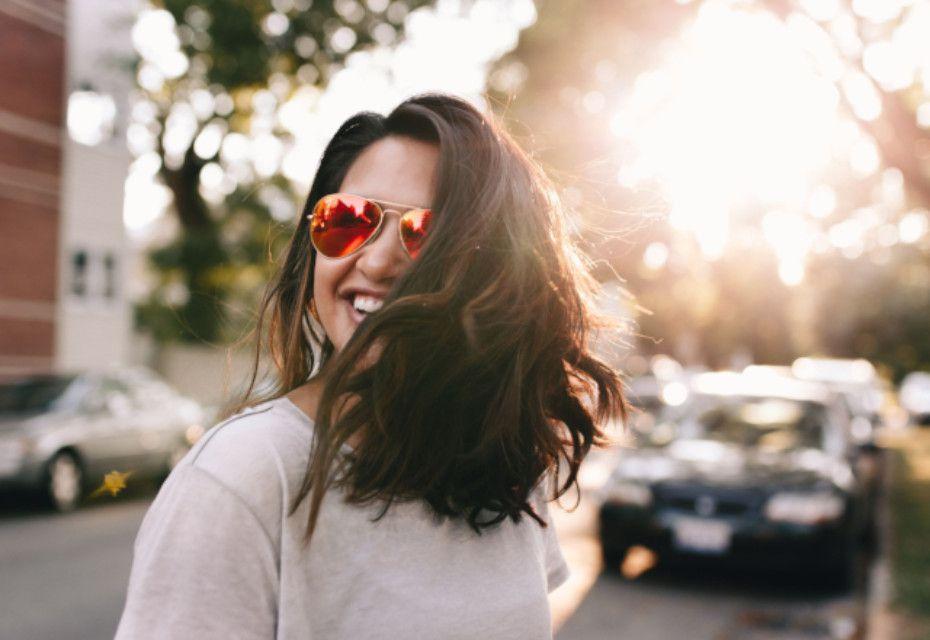 foto zonnebril