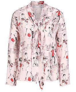 Blouse Fashion Prints
