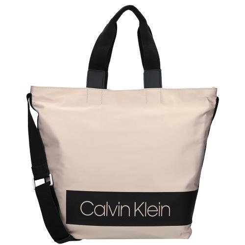 Korting Verhandelbare Outlet Warm Te Koop Calvin Klein Block Out shopper nude Goedkope Groothandelsprijs Nblh8oT