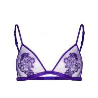La Perla floral lace bra - Pink & Purple