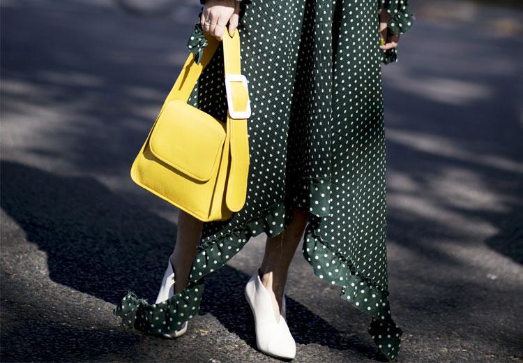 Zoek het contrast op in geel en groen