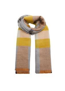 Driekleurige geruite sjaal
