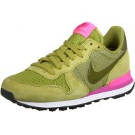 Nike Internationalist W schoenen olive/pink
