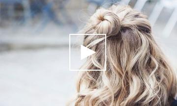 Libelle's Lifehack: Zo maak je het perfecte knotje