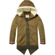 Scotch & Soda Versierde parka