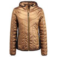 CMP WOMAN FIX HOOD Ski jas gold
