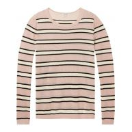 Maison Scotch Lightweight Pullover Knit In Solid