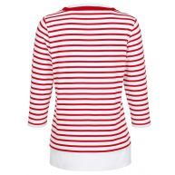 Shirt Paola rood/wit