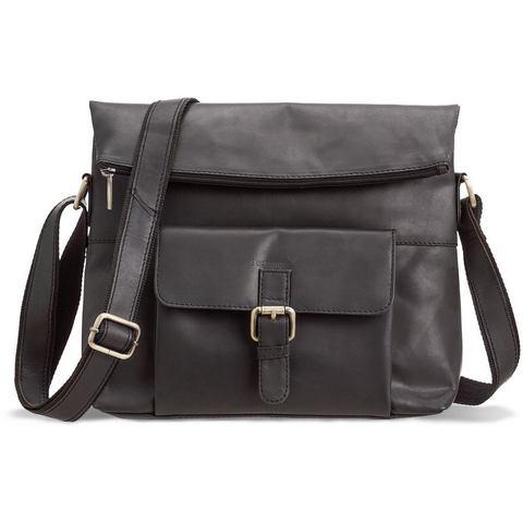 Packenger schoudertas met 10-inch-vak voor tablet, Ivar, zwart
