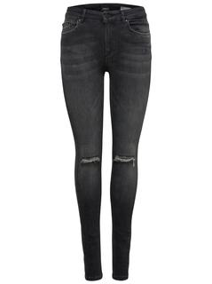 Lux Mid Skinny Jeans Dames Grijs