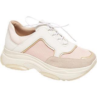 Lichtroze chunky dad sneaker