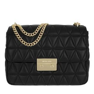 Schoudertassen - XL Chain Shoulder Bag Black in zwart voor dames