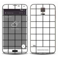 Monochroom skincover voor de Samsung Galaxy S5 (Plus) / Neo