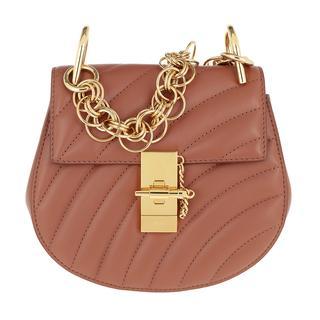 Tasche - Drew Bijou Mini Leather Chestnut Brown in bruin voor dames - Gr. Mini