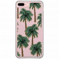 iPhone 8 Plus/7 Plus siliconen telefoonhoesje - Bora bora