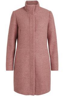 Vialanis coat-noos 14047046 ash rose roze