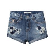 Scotch & Soda Shorts met hoge taille