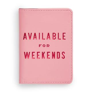 Passport holder. Available for weekends.