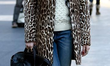 How to wear: faux fur jas