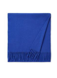 Sjaal van wol met franjes 165 x 35 cm