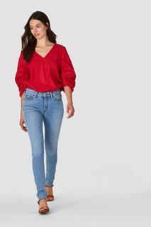 Juno High Dames Jeans Blauw - Super Slim Fit&High Rise - 27/30