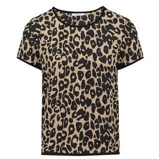 Leopard T-Shirt - Beige/Black