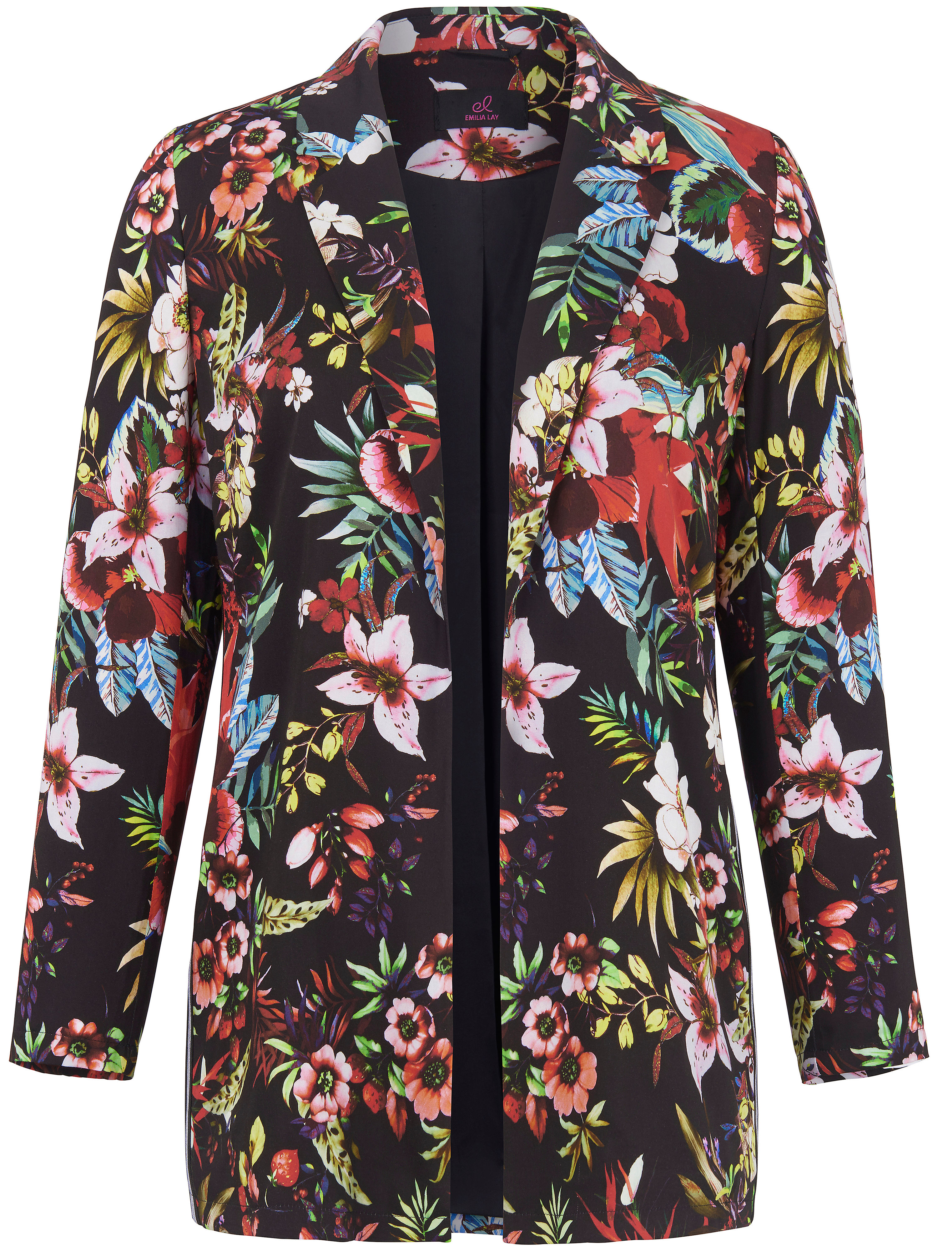 Lay Emilia Lay Multicolour Blazer Multicolour Emilia Blazer R3Sc54LqAj