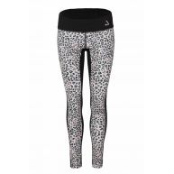 Colourful leopard long tights