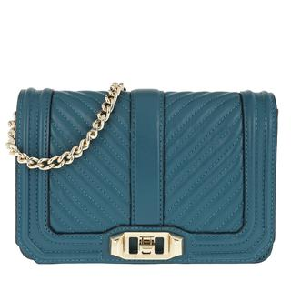 Tasche - Small Love Crossbody Bag Sapphire in teal-cyan voor dames - Gr. Small