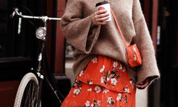 Florals and knits