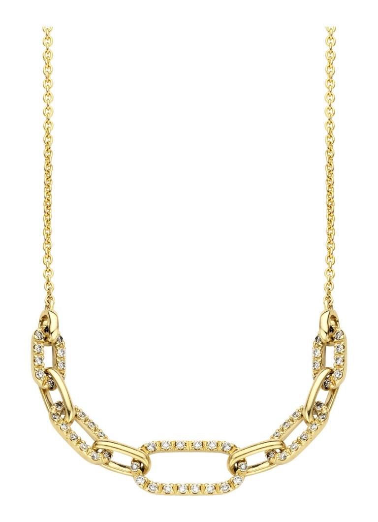 Diamond Point Alliance geelgouden collier Pre Order Online Te Koop wS3Xpk