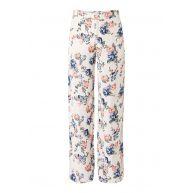 Pepe Jeans Ika wide fit pantalon met bloemendessin