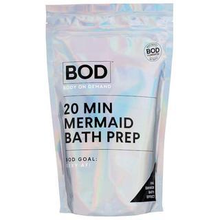 20 min Mermaid Bath Salts Pink Glitter