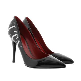 7e1e06f25a9981 Pumps - VLTN Pump 105 Patent Leather Black in zwart voor dames - Gr. 38
