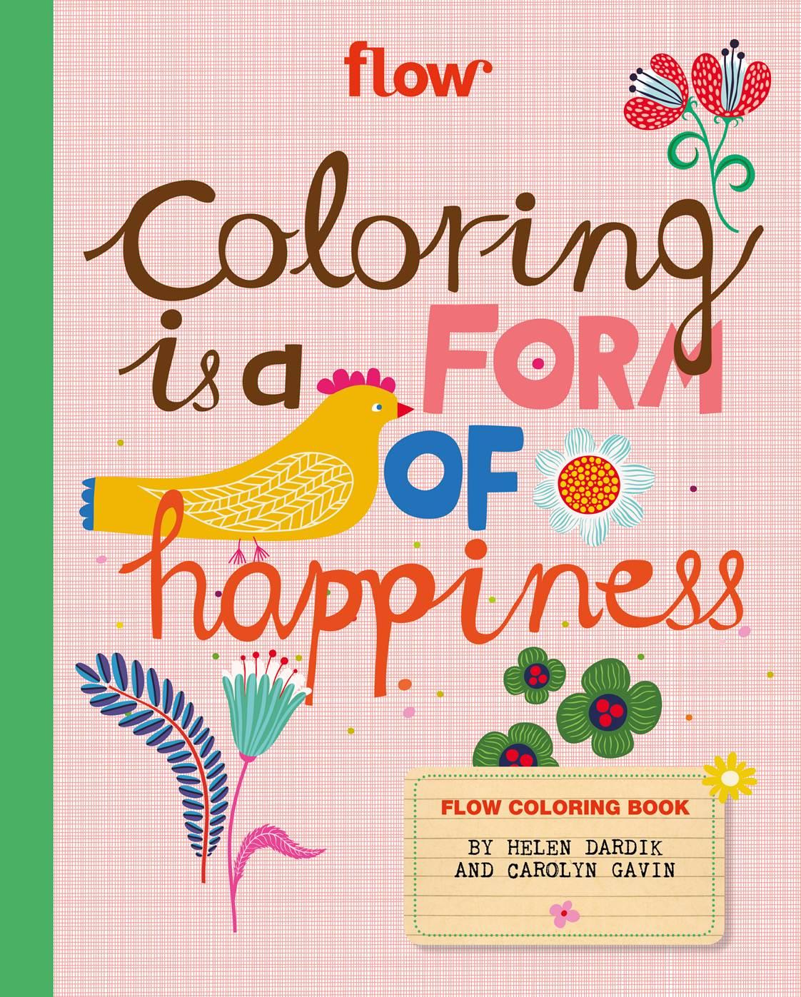 Flow Coloring Book - Flow Magazine
