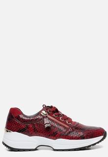 Comfort sneakers rood