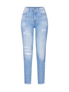 Jeans '3301 Fringe rp High Straight Ankle Wmn'