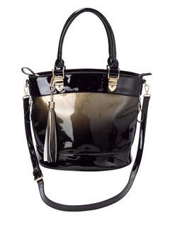 Handtas goudkleur/zwart