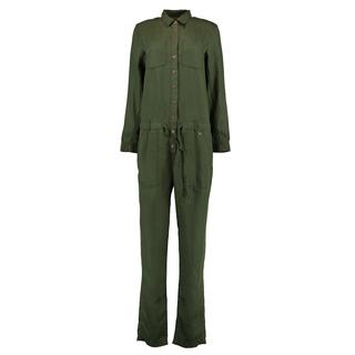 Tencel Jumpsuit Groen Jumpsuits