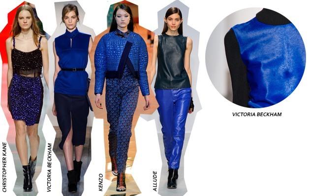 Kleurencombinatie: Blauw en zwart